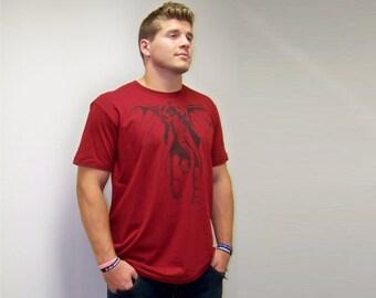 Alabama National Champs, T-shirt mens, graphic tee, Alabama shirt, Elephant shirt, American Apparel, boyfriend gift, football, crimson tide