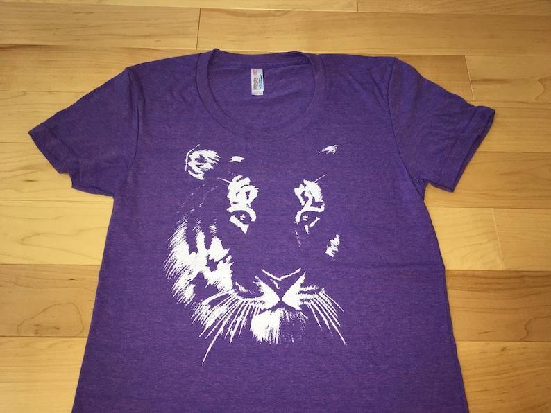 81832d96bebae7 Tiger shirt Womens tshirt Tiger print t shirt workout