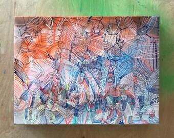 "9"" x 12"" painting"