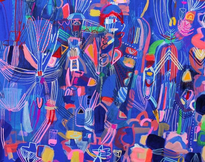 Trance - original painting