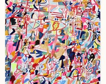 """60"""" x 60"""" paintings"""