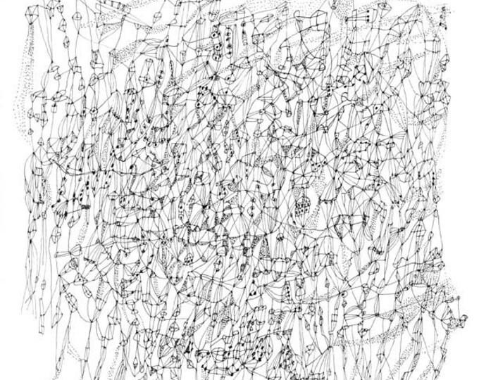"Hesperus, The Evening Star - 11"" x 11"" print"