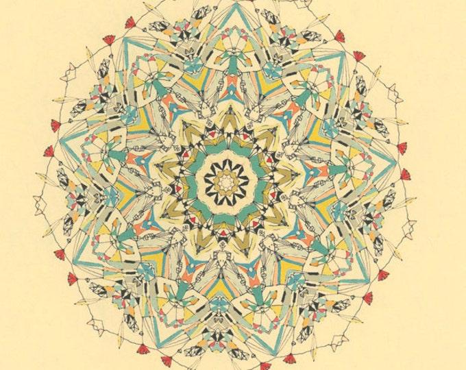 "Diamond Planet - 11"" x 17"" print"