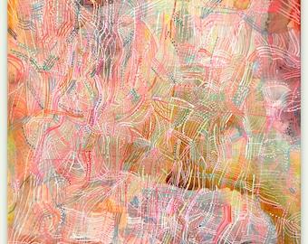 "Sandlewood - original 12"" x 12"" painting on canvas"