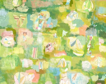 Spring Flowers  - large scale print