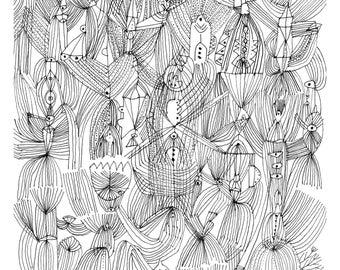 Vessel - Large Scale Print