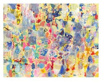 Summer at Blackburn Park - large scale print