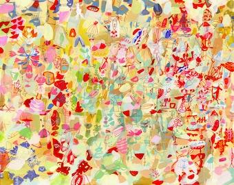 Wisteria Garden - large print