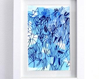 "6"" x 8"" framed paintings"