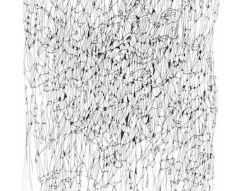 "Winter in Paris - 12"" x 18"" print"