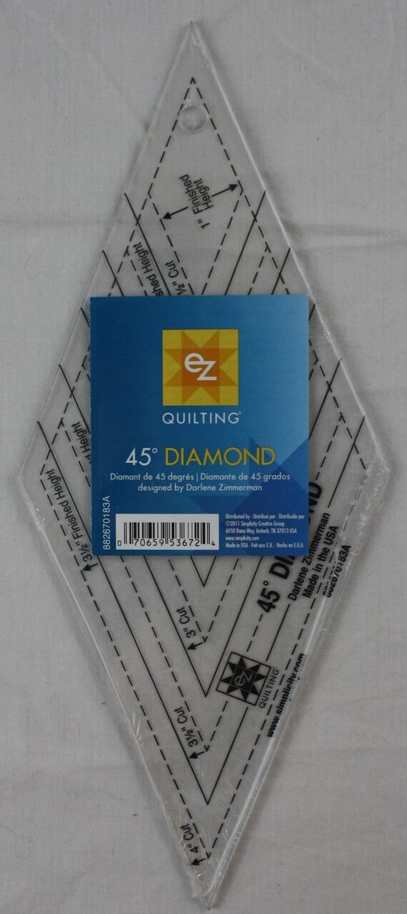 120 grados de media Diamante Quilting Y Patchwork Regla