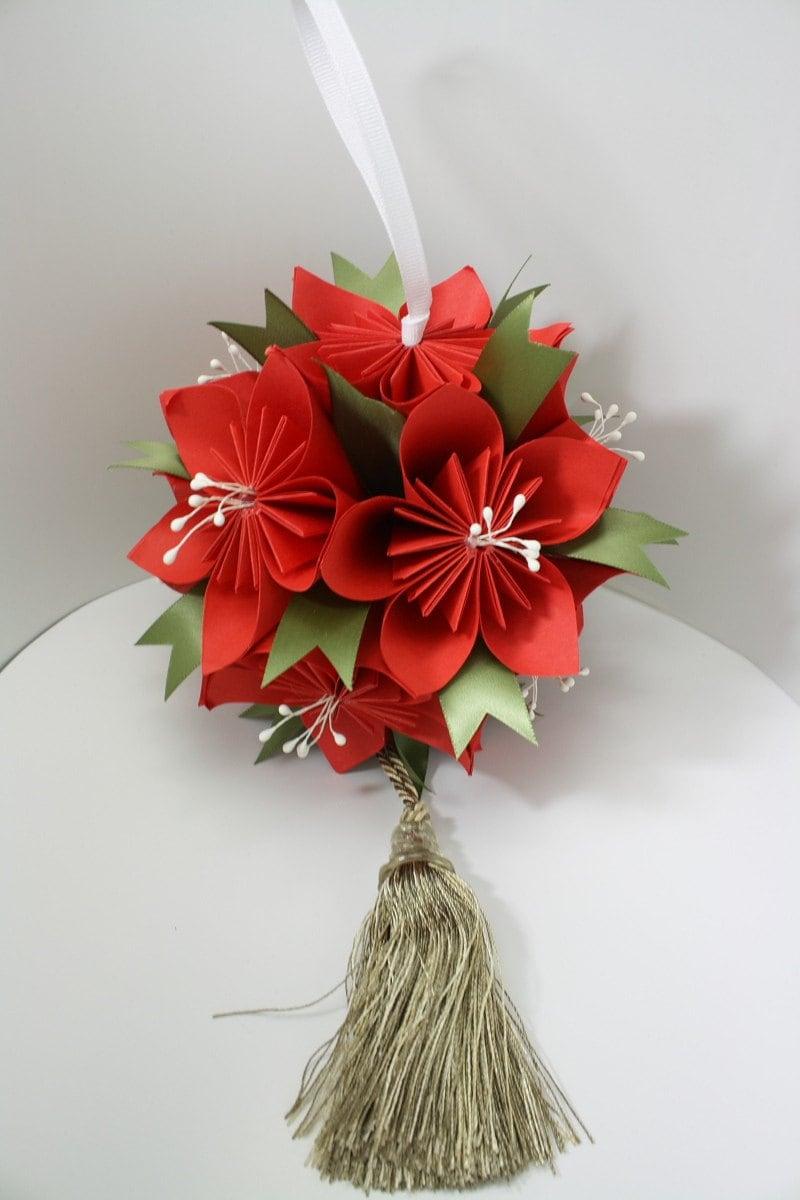 Diy Origami Kusudama Flower Ball Pdf Etsy