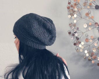 MORE COLORS . all sizes . unisex slouch beanie. vegan.