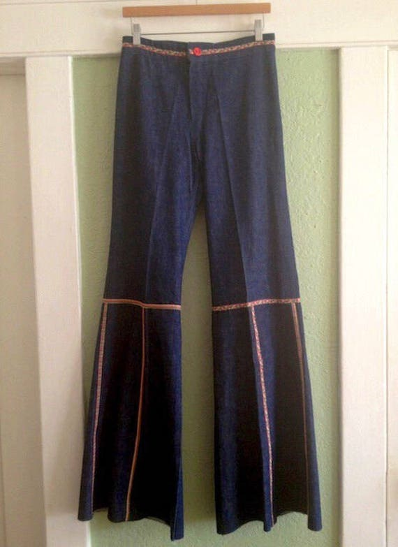 Rare French Bellbottoms - French Dressing Co - 197