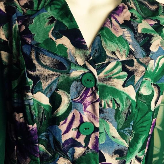 1980's Cottagecore Dress - midi dress - vintage b… - image 2