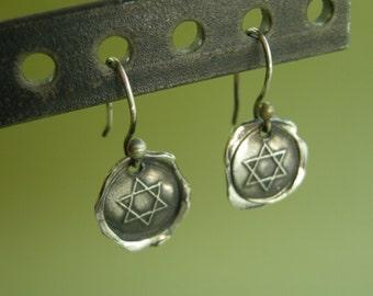 Sealing Wax Earrings