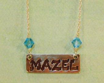 Mazel Necklace