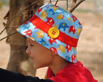 Bucket Hat Pattern PDF Sewing Pattern Boys and Girls Hat Pattern