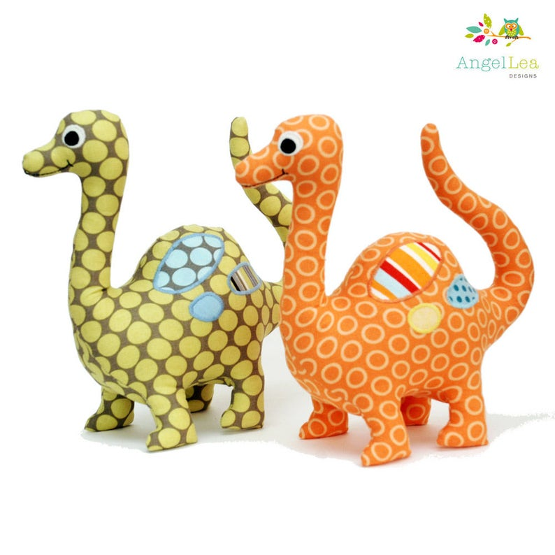Hardcopy Modello di carta dell'animale perEtsy dinosauro farcito del cucito di di vNOym8n0w
