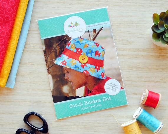 Scout Eimer Hut HARDCOPY Papier Nähen Muster jungen und | Etsy