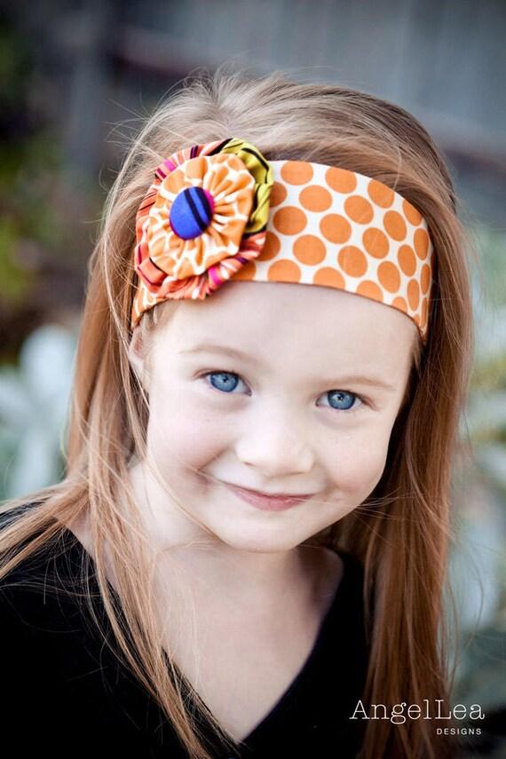 Stirnband Muster HARDCOPY Papier Nähen Blumenmuster und Funky | Etsy