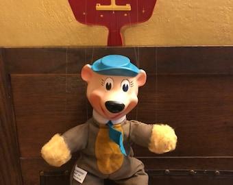 Yogi Bear Vintage Marionette Puppet