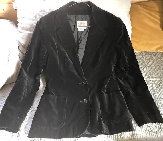 Vintage velvet Nordstrom jacket