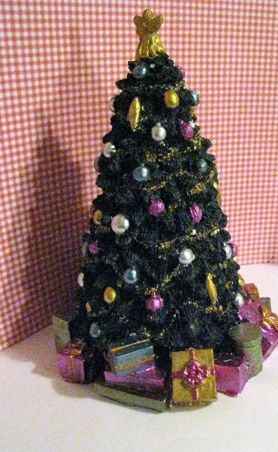 Dollhouse Christmas Tree Sale Tall Tree Christmas Dollhouse Etsy