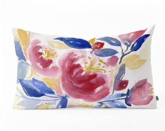 Oblong Throw Pillow - Abundance