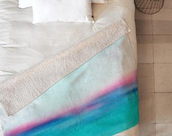 """Dreamy Sherpa Throw Blanket   60""""x50"""" Sherpa Fleece"""
