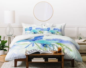 Blue As The Sea Duvet Cover / Dreamy Bedding