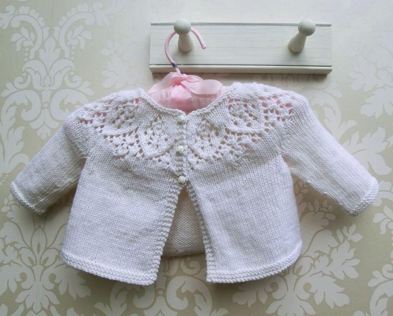 Baby Girl Knitting Pattern Newborn Knitting Pattern Etsy