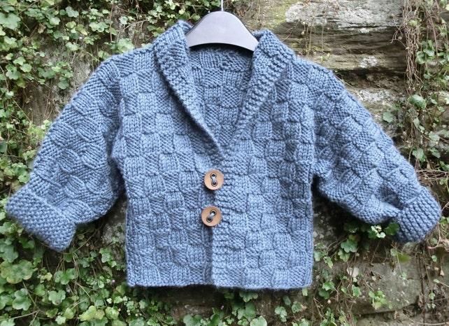 Baby Jacke Stricken Muster gestrickt jungen Mantel Mädchen | Etsy