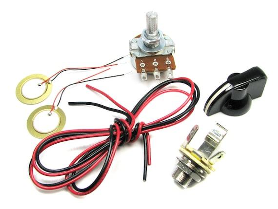 Bauen Sie Cigar Box Guitar Electronics Kit eigene | Etsy