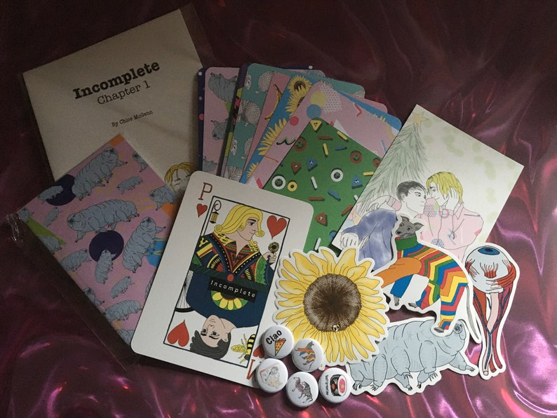 Merch goody bag  LGBT disability comic pack including chapter image 0