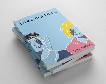 Incomplete - a graphic novel about LGBT issues and disability - independent publisher