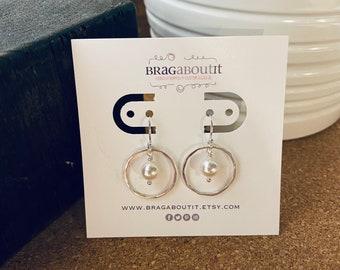 SALE . Ready To Ship Sterling Silver Earrings