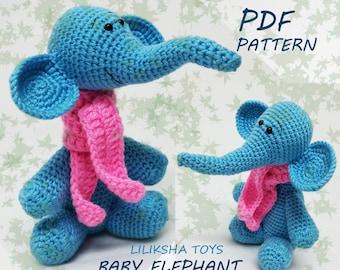 Elephants In Love | Free Crochet Pattern | Hooked by Kati | 270x340
