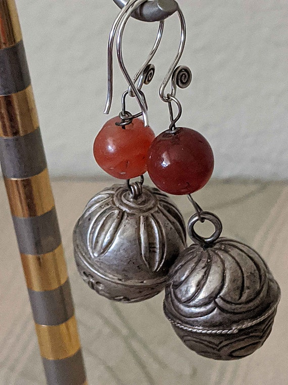 EARRINGS Antique CHINESE BELLs, Qing Dynasty
