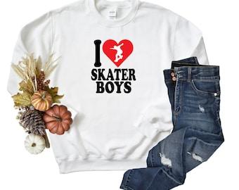 Skater Boys Unisex Sweatshirt.
