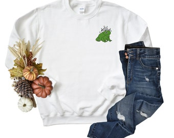 Cowboy Frog so cute Unisex Sweatshirt, I Love Frogs Sweatshirt.