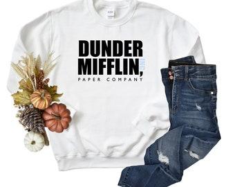 The Office Dunder Mifflin Paper Inc TV Show Unisex Sweatshirt, Dunder Mifflin, The Office, Dwight Schrute.