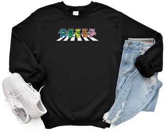 Grateful Abbey Road Parody Unisex Sweatshirt, The Beatles Sweatshirt.