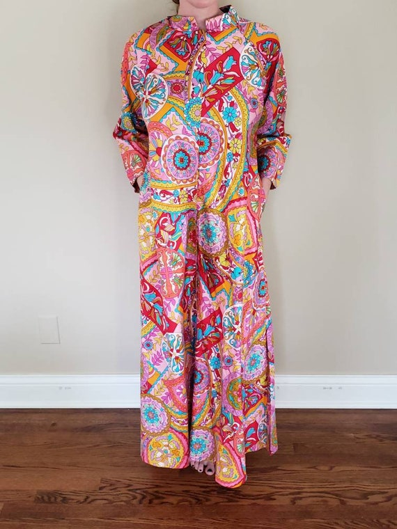 Psychedelic 70s House Coat