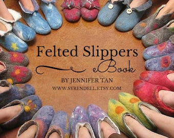 Felted Slippers eBook - pdf
