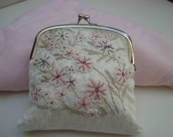 Embroidered Pouch/Purse.