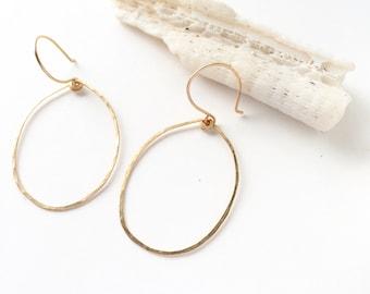 thin gold hoops, hoop earrings, GOLD hoops earrings, thin hoop earrings, minimalist earrings, simple hoop earrings, gold hoop earrings