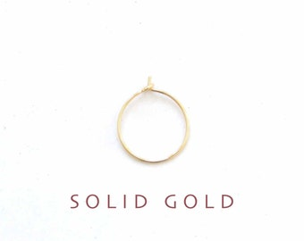 thin SOLID GOLD nose ring, gold nose ring, thin gold nose hoop, thin nose ring, gold nose hoop, 14k solid gold nose ring, BIPOC owned shop