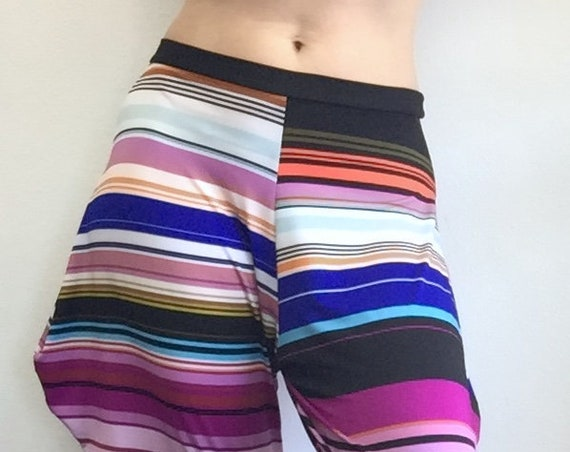Jodphur Pant - Colorful Stripes
