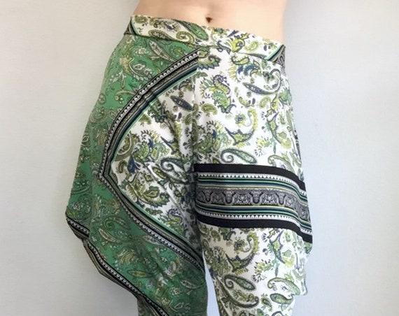 Jodphur Pant - Green Paisley